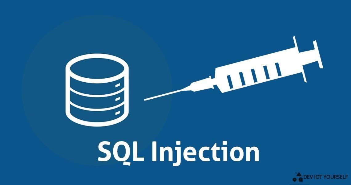 Découvrez les dangers des injections SQL