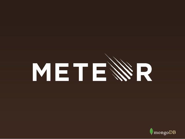 Meteor : Développer des applications web full JavaScript